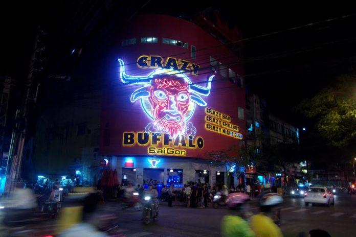 疯狂的水牛夜总会胡志明市